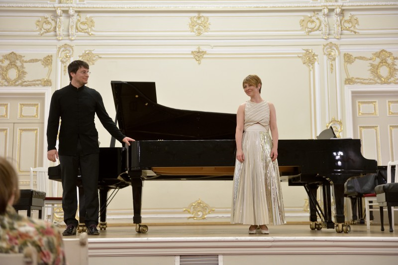 Duo in concert - April 2014 - St Petersburg