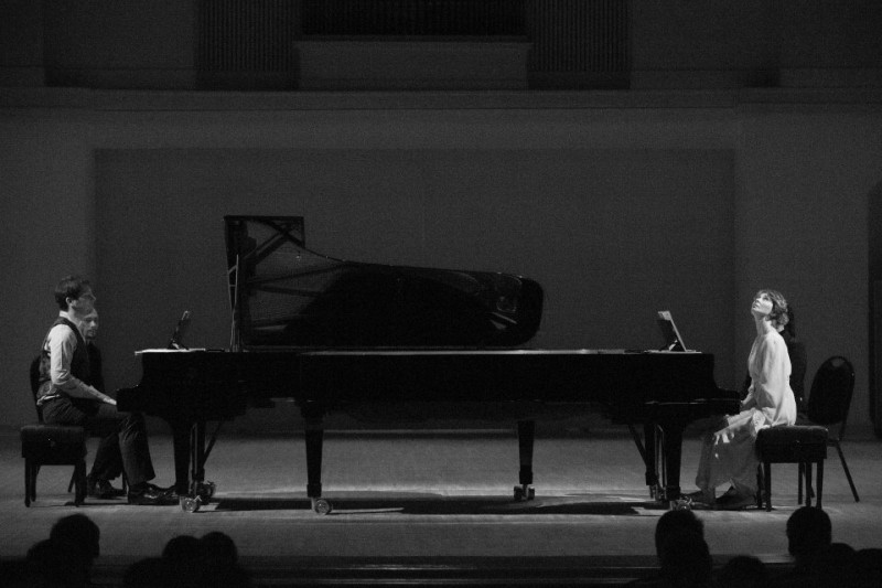 Duo in concert - October 2013 - Moscow